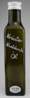 Kräuter Knoblauch Öl